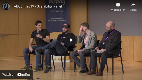 Scaling Blockchains: Panel at TABConf 2019